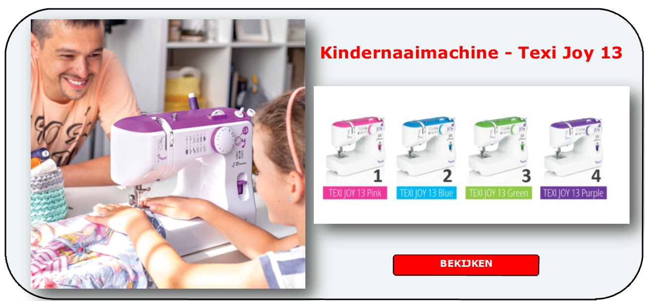Kindernaaimachine Texi Joy 13